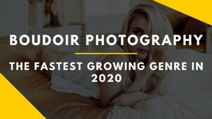 Boudoir photography fastest growing category